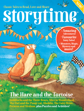 Storytime-kids-magazines.-Issue-1-Hare-and-Tortoise.-Kids-magazine-subscriptions.www.storytimemagazine.com