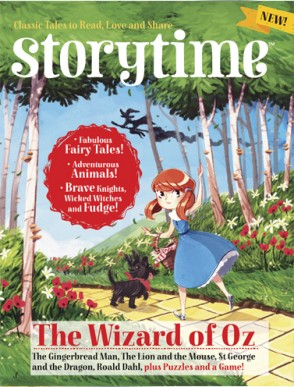 Storytime-kids-magazines.-Issue-2-Wizard-of-Oz.-Kids-magazine-subscriptions-www.storytimemagazine.com