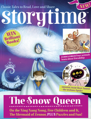 Storytime-kids-magazines.-Issue-4-The-Snow-Queen.-Kids-magazine-subscriptions-www.storytimemagazine.com