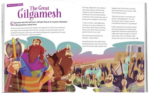 Storytime-kids-magazines.-Issue-11-The-Great-Gilgamesh.-Stories-for-kids. Kids-magazine-subscriptions-www.storytimemagazine.com
