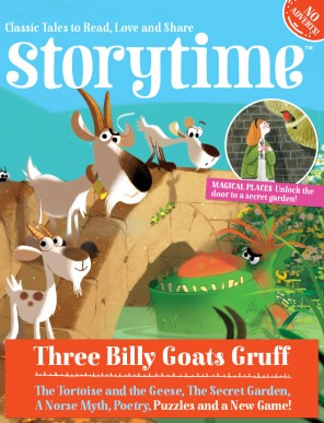 Storytime_kids_magazines_Issue10_stories_for_kids_three_billy_goats_gruff_www.storytimemagazine.com