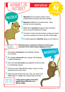 storytime_kids_magazines_free_printables_alphabet_zoo_animal_factsheet_M_www.storytimemagazine.com/free-downloads