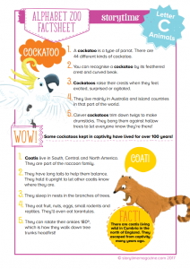 storytime_kids_magazines_free_printables_animal_fact_sheet_C_www.storytimemagazine.com/free-downloads