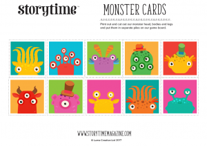 storytime_kids_magazines_free_printables_monster_cards_www.storytimemagazine.com/free-downloads