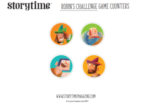 storytime_kids_magazines_free_printables_robin_hood_game_counters_www.storytimemagazine.com/free-downloads