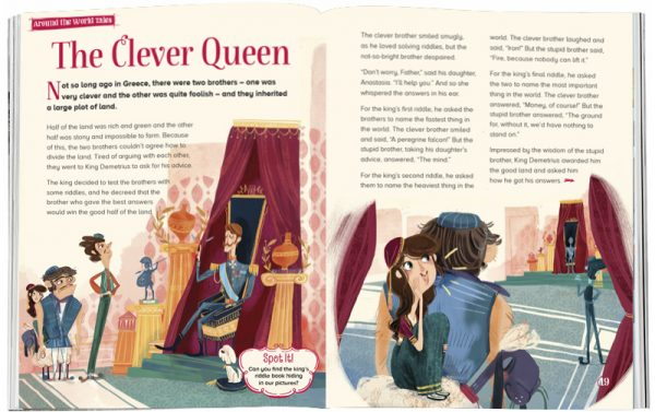 Storytime_kids_magazines_Issue13_The-Clever_Queen_stories_for_kids_www.storytimemagazine.com