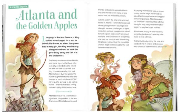 Storytime_kids_magazines_Issue14_Atlanta_and_the_Golden_Apples_stories_for_kids_www.storytimemagazine.com