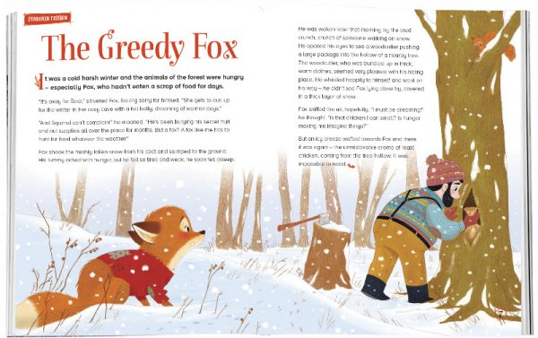 Storytime_kids_magazines_Issue15_The_Greedy_Fox_stories_for_kids_www.storytimemagazine.com