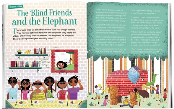 Storytime_kids_magazines_Issue16_Blind_Friends_and_Elephants_tories_for_kids_www.storytimemagazine.com