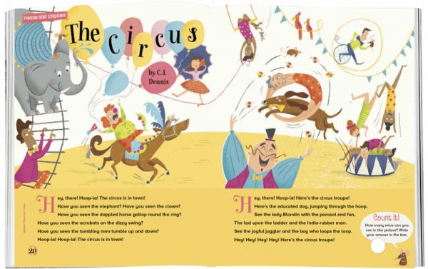 Storytime_kids_magazines_Issue17_circus_stories_for_kids_www.storytimemagazine.com