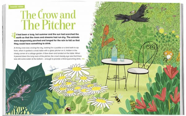 Storytime_kids_magazines_Issue19_crow_pitcher_stories_for_kids_www.storytimemagazine.com