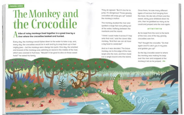 Storytime_kids_magazines_Issue21_monkey_and_crocodile_stories_for_kids_www.storytimemagazine.com