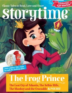Storytime_kids_magazines_issue21_Frog_Prince_www.storytimemagazine.com