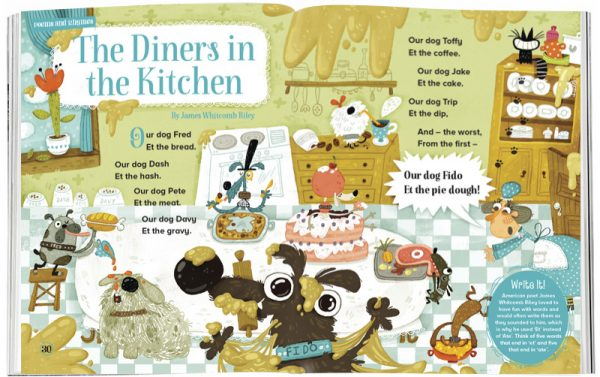 Storytime_kids_magazines_Issue22_dinners_in_the_kitchen_stories_for_kids_www.storytimemagazine.com
