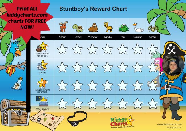 free-kids-charts-picmonkey | Storytime Magazine | Classic
