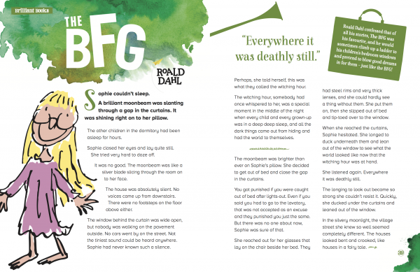 Roald Dahl, The BFG, Storytime magazine, stories for kids, magazine subscriptions for kids