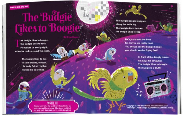 Storytime_kids_magazines_Issue25_the_budgie_likes_to_boogie_stories_for_kids_www.storytimemagazine.com