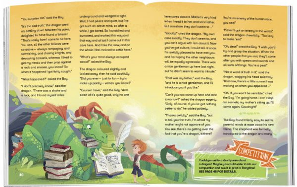 Storytime_kids_magazines_Issue25_the_reluctant_dragon_stories_for_kids_www.storytimemagazine.com