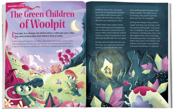 Storytime_kids_magazines_Issue26_the_green_children_of_woolpit_stories_for_kids_www.storytimemagazine.com