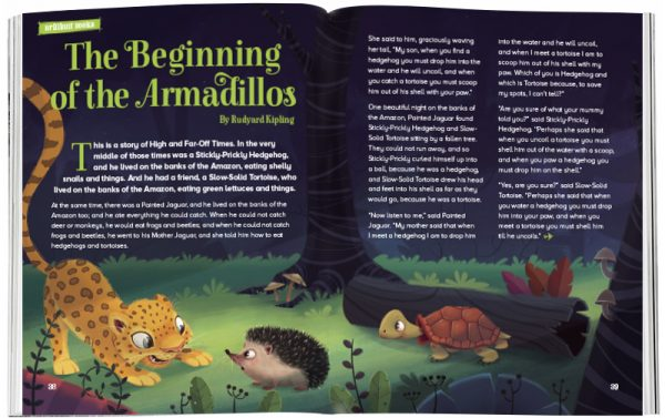 Storytime_kids_magazines_Issue29_beggining_of_armadillos_stories_for_kids_www.storytimemagazine.com