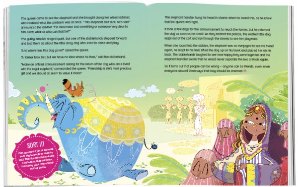 Storytime_kids_magazines_Issue29_elephant_and_the_dog_stories_for_kids_www.storytimemagazine.com