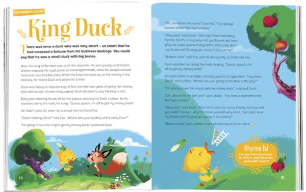 Storytime_kids_magazines_Issue29_king_duck_stories_for_kids_www.storytimemagazine.com
