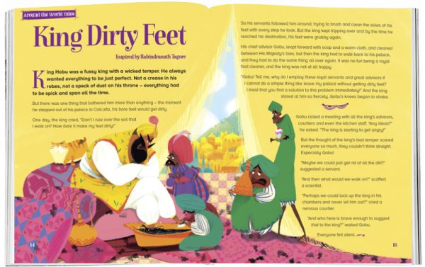 Storytime_kids_magazines_Issue30_king_dirty_feet_stories_for_kids_www.storytimemagazine.com