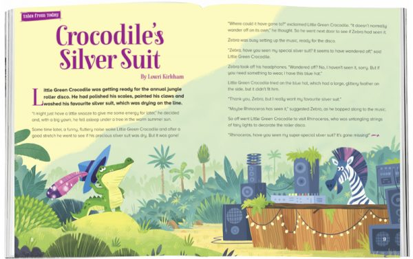 Storytime_kids_magazines_Issue31_crocodiles_silver_suit_stories_for_kids_www.storytimemagazine.com