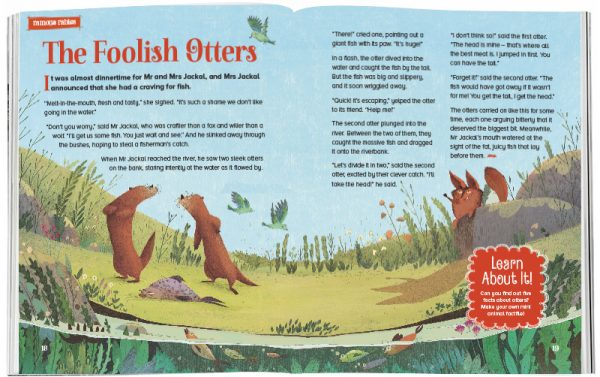 Storytime_kids_magazines_Issue31_foolish_otters_stories_for_kids_www.storytimemagazine.com