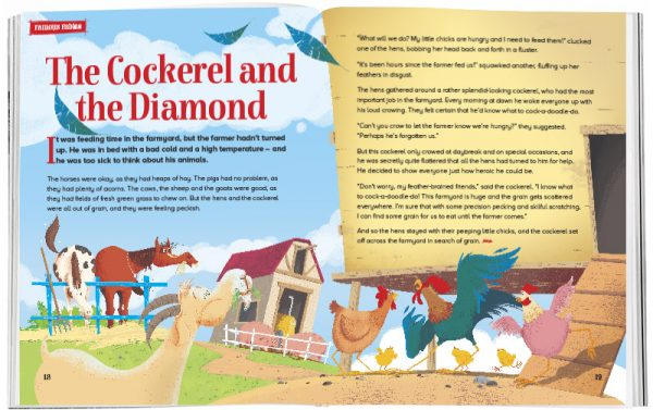 Storytime_kids_magazines_Issue32_the_cockerel_and_the_diamond_stories_for_kids_www.storytimemagazine.com