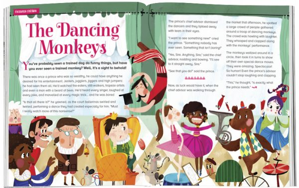 Storytime_kids_magazines_Issue33_dancing_monkeys_stories_for_kids_www.storytimemagazine.com