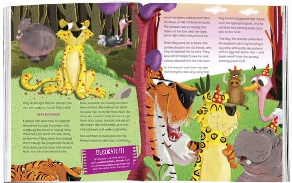Storytime_kids_magazines_Issue33_the_leopard_who_los†_her_spots_stories_for_kids_www.storytimemagazine.com