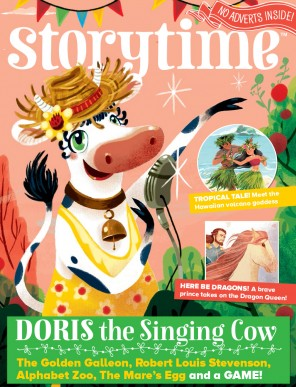 Storytime_kids_magazines_issue36_Doris_Singing_Cow_www.storytimemagazine.com