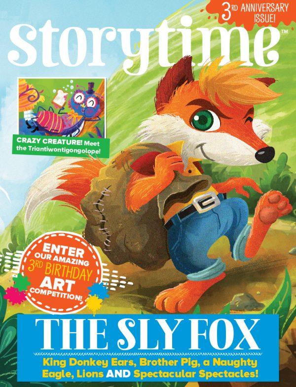 Storytime_kids_magazines_issue37_Sly_Fox copy_www.storytimemagazine.com