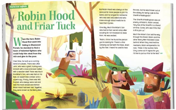 Storytime_kids_magazines_Issue38_Robin_Hood_Friar_Tuck_stories_for_kids_www.storytimemagazine.com