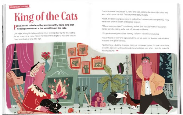 Storytime_kids_magazines_Issue38_king_of_the_cats_stories_for_kids_www.storytimemagazine.com