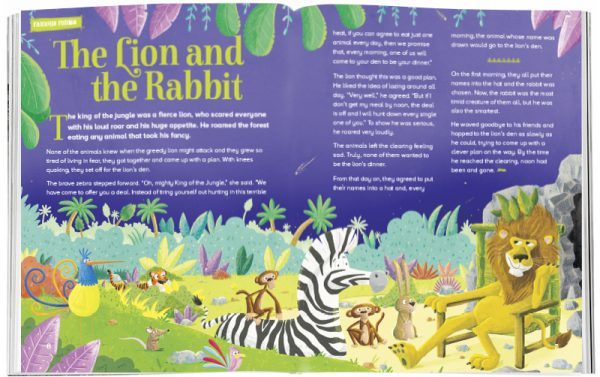 Storytime_kids_magazines_Issue39_the_lion_and_the_rabbit_stories_for_kids_www.storytimemagazine.com