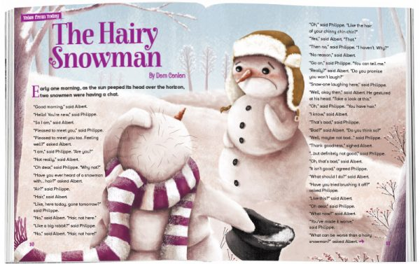 Storytime_kids_magazines_Issue40_hairy_snowmen_stories_for_kids_www.storytimemagazine.com