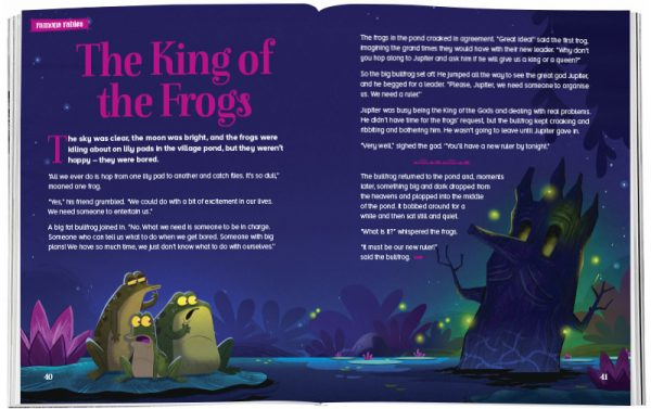 Storytime_kids_magazines_Issue41_the_king_of_frogs_stories_for_kids_www.storytimemagazine.com