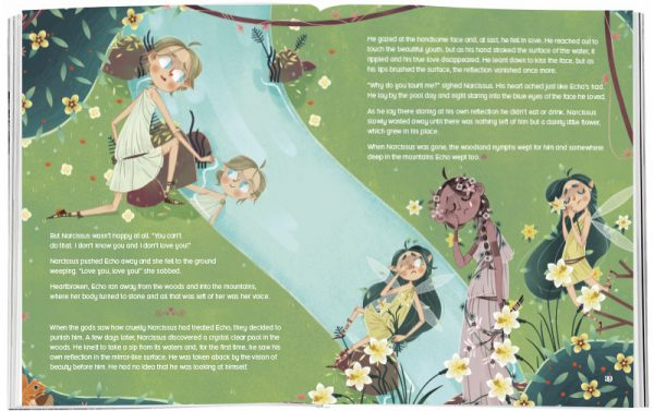 Storytime_kids_magazines_Issue42_echo_and_narcissus_stories_for_kids_www.storytimemagazine.com