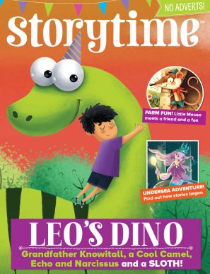 Storytime_kids_magazines_issue42_Leo_Dino_www.storytimemagazine.com