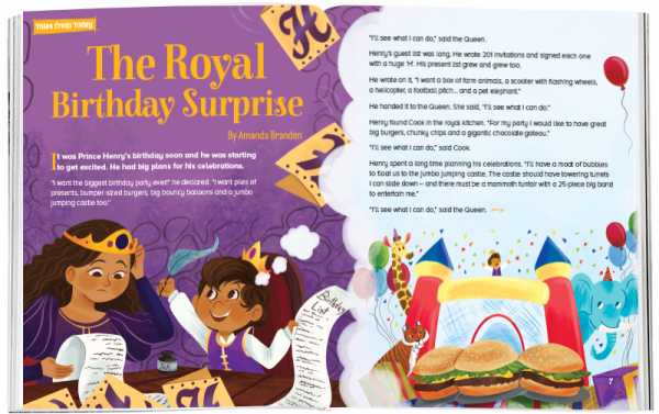 Storytime_kids_magazines_Issue45_royal_birthday_surprise_stories_for_kids_www.storytimemagazine.com