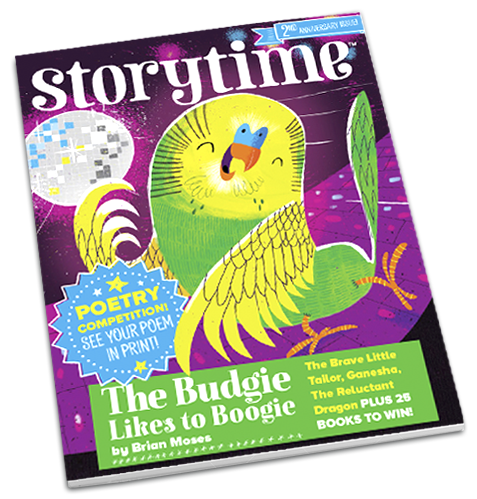 Storytime_kids_magazines_issue25_the_budgie_likes_to_boogie_www.storytimemagazine.com