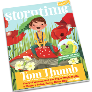 Storytime_kids_magazines_issue35_Tom_Thumb_current_issue_www.storytimemagazine.com