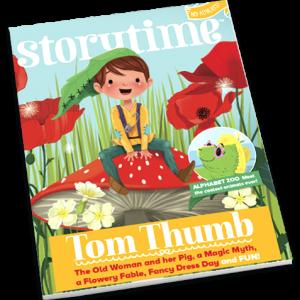 Storytime_kids_magazines_issue35_Tom_Thumb_current_issue_www.storytimemagazine.com