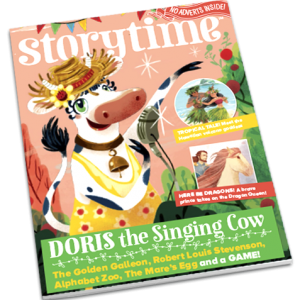 Storytime_kids_magazines_issue36_Doris_Singing_Cow_OUT_NOW_www.storytimemagazine.com