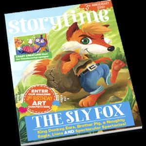 Storytime_kids_magazines_issue37_Sly_Fox_Current_issue_www.storytimemagazine.com
