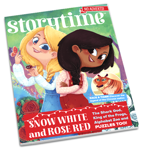 Storytime_kids_magazines_issue41_rose_red_snow_white_Current_www.storytimemagazine.com