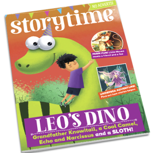 Storytime_kids_magazines_issue42_leos_dino_Current_www.storytimemagazine.com
