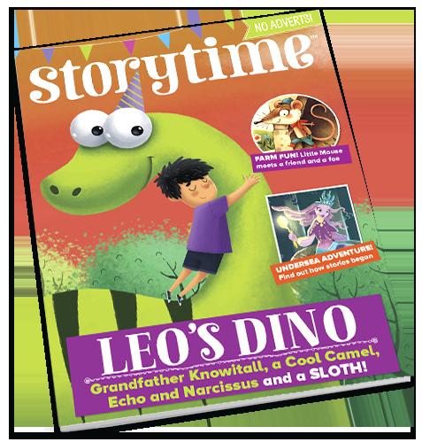 Storytime_kids_magazines_issue42_leos_dino_Current_www.storytimemagazine.com